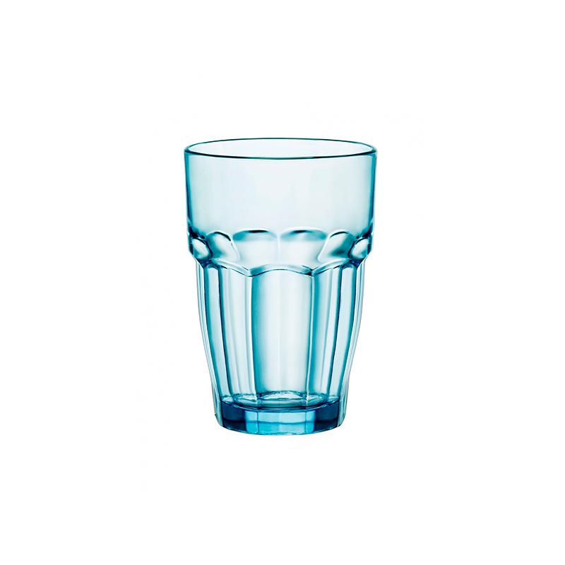 6 Vasos RockBar Azul 37cl