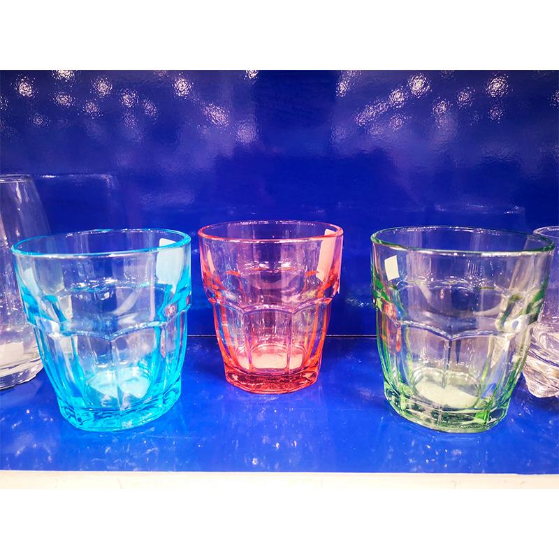 Set 6 Vasos Azules Rock Bar